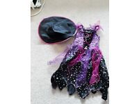 Purple and pink witches costume