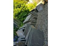 Concrete paving slabs