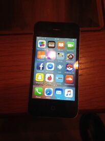 Black I Phone 4s