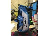 Golf titleist golf trolley bag great condition