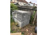 Concrete blocks 50p each