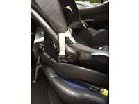 Maxi-Cosi baby car seat with ISOFIX base