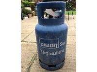 7kg Calor Gas Butane, Seal Intact.