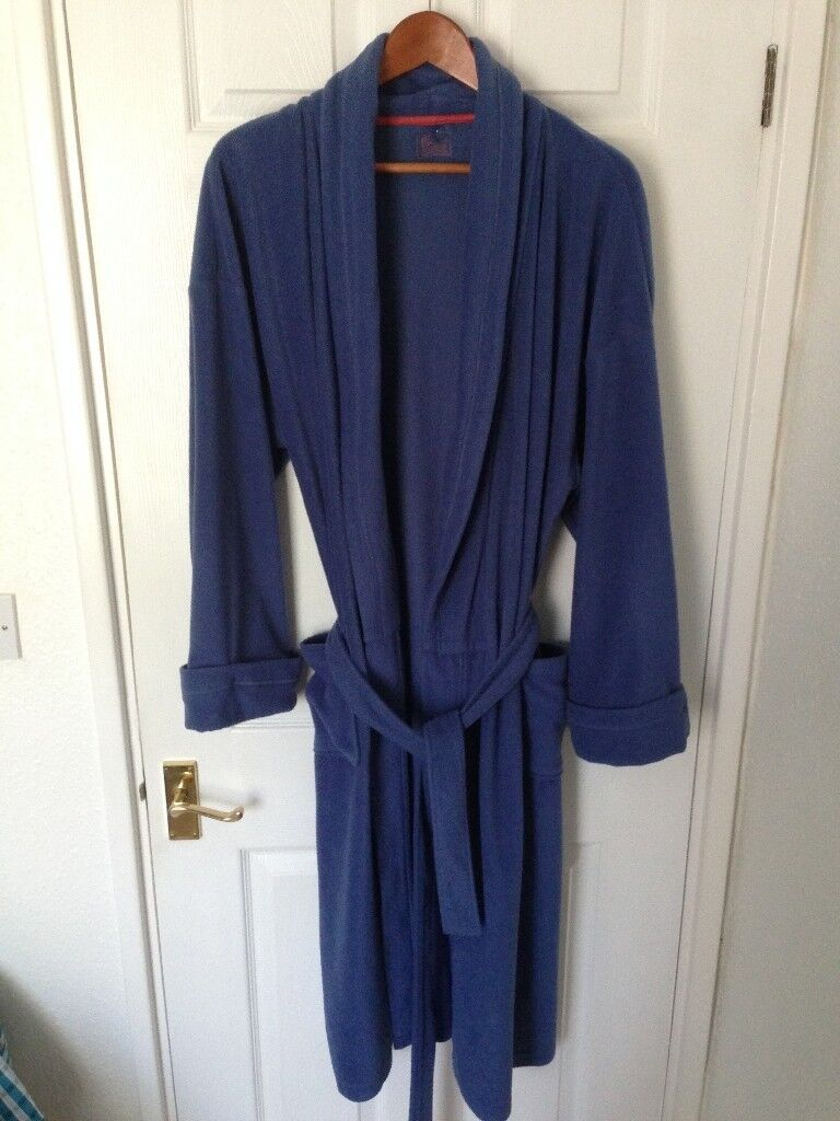 Blue BHS Dressing Gown - Large | in Darlington, County Durham | Gumtree