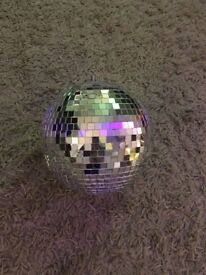 Small mirror tile disco ball