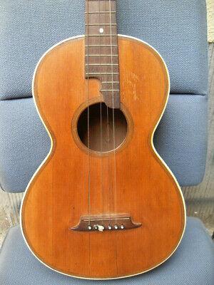 Über 100 Jahre alte Gitarre Parlour Guitar Guitare Biedermaier very old guitar
