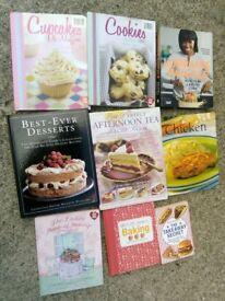 Baking & cooking books