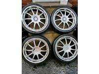 Alloy wheels 4x100 4x108 tyres rims car van look ask all available 5 stud 4 stud