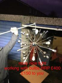 expensive chandalier RRP £400