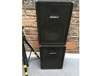 Carlsbro Speakers Peavey Amp