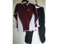 Basingstoke The Costello School Rugby Shirt 38/40ins Sports Trousers Medium Very Good Clean Cond.