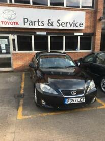LEXUS IS220D. FULL SERVICE HISTORY. LOW MILEAGE. 5DOORS