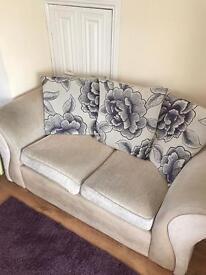 2x 2 seater sofas £150
