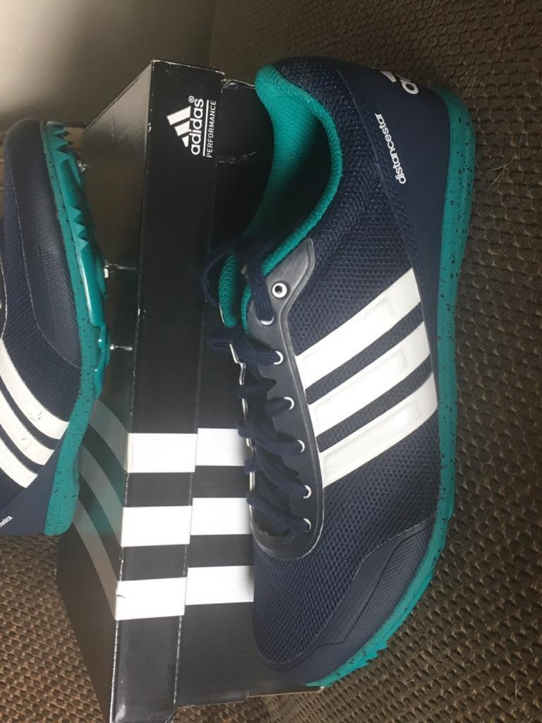 Adidas running spike trainers size 6