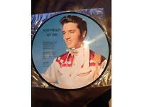 Elvis presley picture lp record