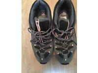 Karrimor ladies walking shoes size. 5