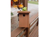 Solid Heavy duty bird boxes, sqirrel proof