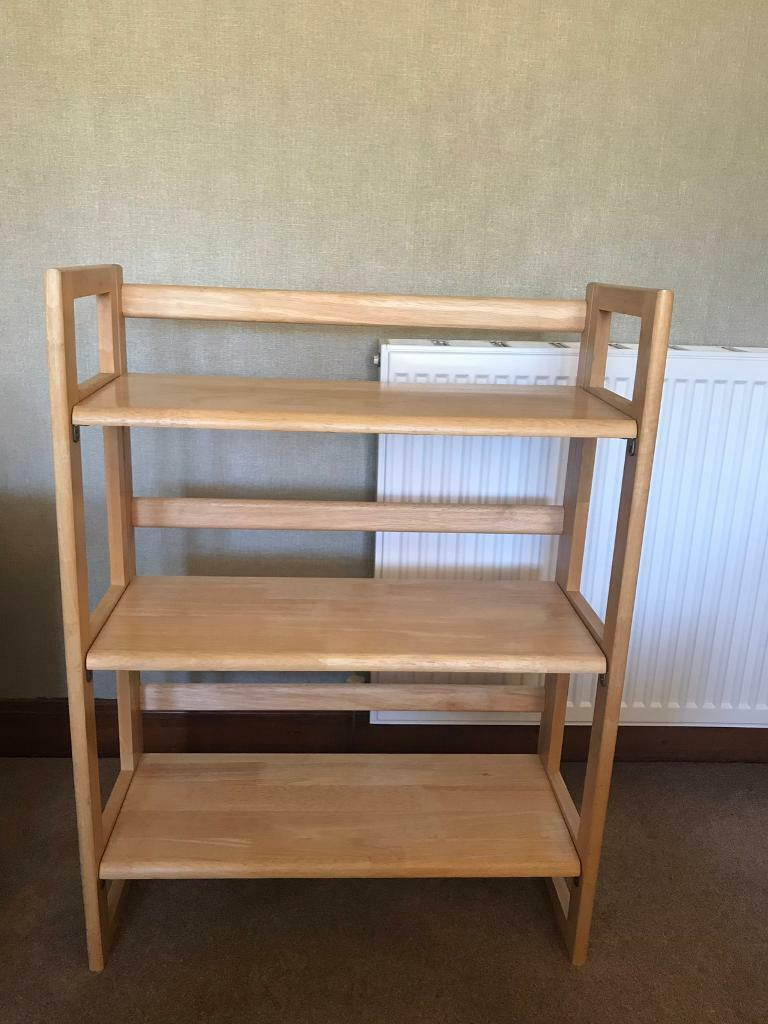 Folding Bookcase Solid Wood Edinburgh In Morningside Edinburgh Gumtree