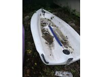 Topaz Taz Dinghy - Needs finishing