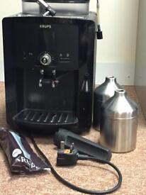 Krupps coffee machine &filter