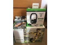 Xbox One 500GB + Turtle Beach + 3 games