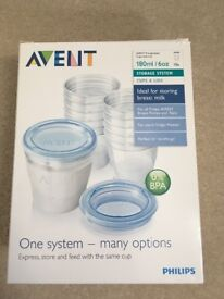 Storage cups Avent