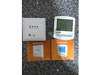 Heatmiser RC1-W & PRT-W wireless Thermostat and receiver for sale  Dorset
