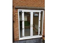 UPVC White Patio Doors