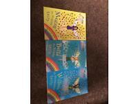 Three kids fairy books
