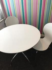 Marks and Spencer's table and 2 chairs dining