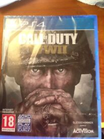 Call of Duty WWII Brand New in Rapper