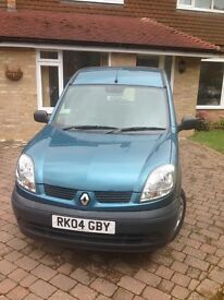 Renault Kangoo Car WAV (Wheelchair accessible vehicle)