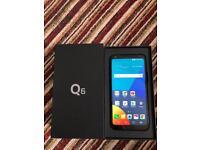 LG Q6 32GB unlocked brand new mobile phone
