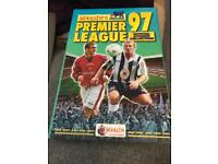 Merlin Premier League Sticker Album 1997 fully complete