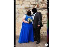 Plus size bridesmaid dress. Size 28 but fit 30/32