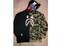 Men's Bape hoody/jacket size medium