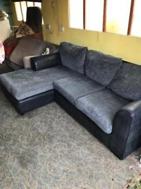 Set of modern comfortable sofas