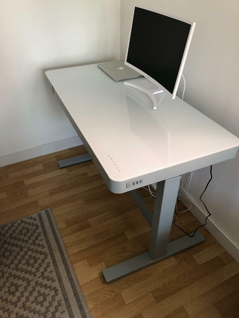 Tresanti Adjustable Height Powered Desk In Camberley Surrey Gumtree