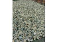 Garden gravel driveway drive pebbles shingle recycled washed stone grit river sand delivered