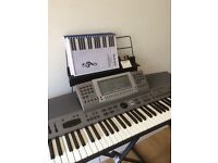 Technics keyboard sxkn6000 stand and stool -great condition