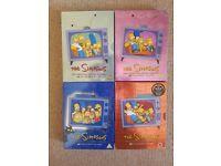 The Simpsons DVD 4x Boxsets Season 2, 3, 4 and 5
