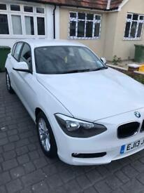 Bmw 1 series sports hatchback manual 2013 26,100 miles
