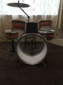 Child's Bontempi drum kit