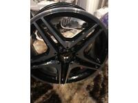Brand new 18 inch Mercedes alloy