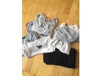 Breastfeeding and maternity tops bundle