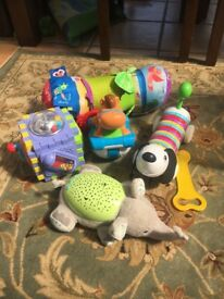 Small bundle of children's toys