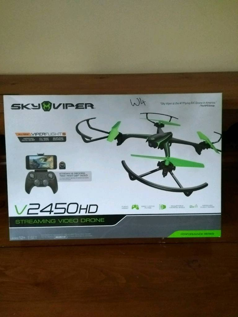 Skyviper v2450hd (RC-DRONE) 720P video capture
