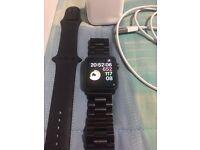 Apple Watch Series 2 42mm Space Grey Warranty Jan 2018,