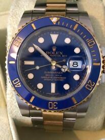 Rolex Submariner 116613LB Box & Papers 2013 Model