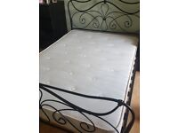 Used Metal Double Bed From Dreans, very good condition